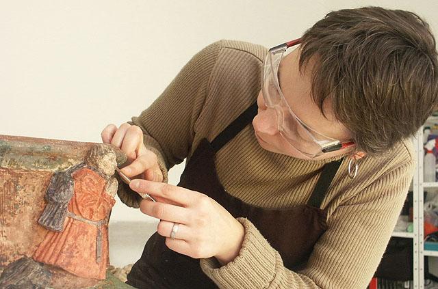 restauration d'art- Isabelle Maquaire