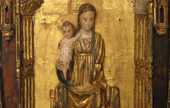 Vierge majesté Musée Gray-Isabelle Maquaire