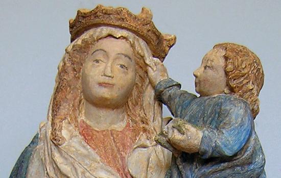 Vierge enfant Sennecey les Dijon-Isabelle Maquaire