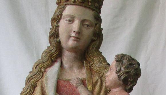Vierge enfant Izeure-Isabelle Maquaire